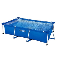 Каркасный бассейн Intex Rectangular Frame Pool 220х150х60 см