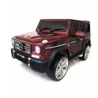 Электромобиль RiverToys Mercedes-Benz G65 AMG Вишневый глянец