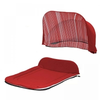 Капор и накидка Seed Papilio Carry Cot Tomato Red