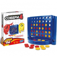 Игра дорожная Hasbro Other Games Собери 4 (B1000)