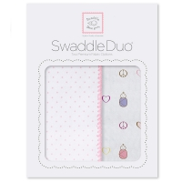 Пеленки SwaddleDesigns Duo PK Peace/LV/SW