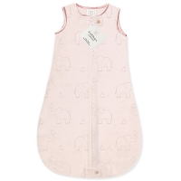Детский спальный мешок SwaddleDesigns zzZipMe Sack (3-6) Pink/Srerling Deco Elephantt(12-18) Pink/Srerling Deco Elephant