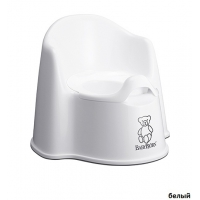 Кресло-горшок BabyBjorn Potty Chair White