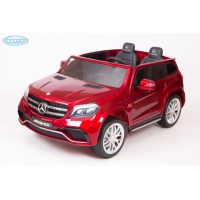 Электромобиль Barty Mercedes-Benz AMG GLS63 HL228 вишнёвый глянец