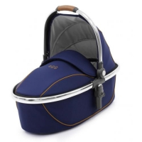 Люлька Egg Carrycot Regal Navy & Mirror Frame