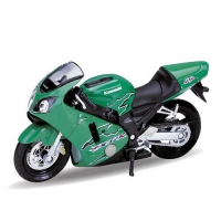 Мотоцикл Welly Kawasaki Ninja ZX-12R 2001