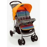 Прогулочная коляска Graco Mirage + W Parent tray and boot Jaffa stripe