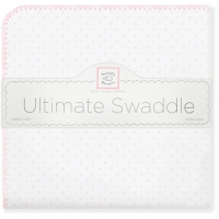 Пеленки Swaddle Designs Dot Pstl Pink