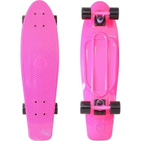 Скейтборд Y-Scoo RT Big Fishskateboard 27 pink/black