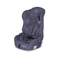 Автокресло Baby Care Upiter Plus 1-2-3 (9-36 кг) Серый/Синий