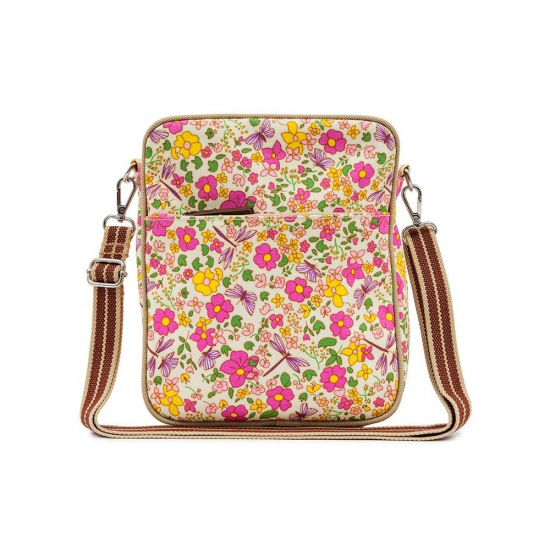 Сумка Pink Lining Out and About Mini Messenger Cottage Garden
