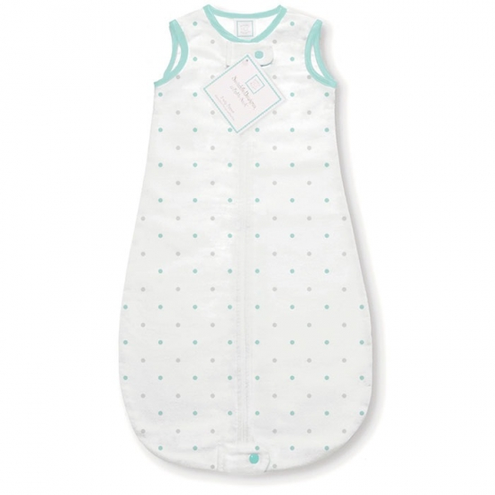 Конверт-мешок SwaddleDesigns zzZipMe Sack 3-6M Flannel SC/ST Little Dot